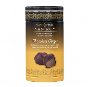 Van Roy Dark Chocolate Ginger 130g