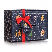 Milly Green Gingerbread Wonderland 6 Tea Selection Box