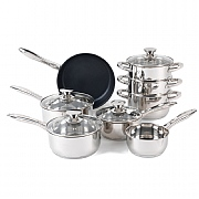 Russell Hobbs Classic Collection Stainless Steel 8 Piece