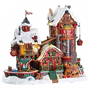 Lemax Elf Made Toy Factory