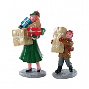 Lemax Christmas Rush (Set of 2)