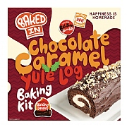 Bakedin Chocolate Caramel Yule Log Baking Kit