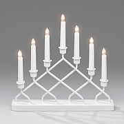 7 Bulb Metal Candlestick Welcome Light