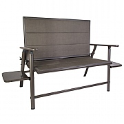 Quest Elite Naples Pro 2 Seater Folding Bench