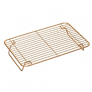 MasterClass Smart Ceramic Reinforced Copper-Coloured Cooling Rack - 35 x 22cm