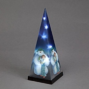 The Snowman & The Snowdog Laser Pyramid (Battery Operated)