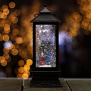 Carol Singers LED Water Filled Lantern