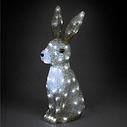 The Snowman Acrylic LED Hare 54cm