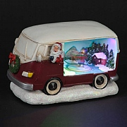 LED Santa Camper Van (Battery Powered)