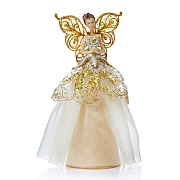 Premier Champagne Gold Angel Tree Topper 23cm