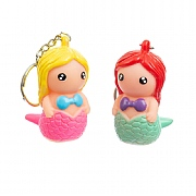 Poopoo Mermaid Keyring