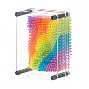 3D Rainbow Pin Art Image Maker