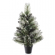 Everlands Frosted Finley Mini Tree 75cm