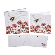 Wrendale 'Bee' Notecard Pack