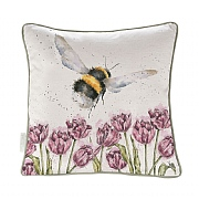 Wrendale 'Flight of the Bumblebee' Bee Cushion 40cm
