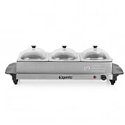 Elgento 3 Tray Buffet Server
