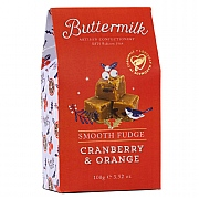 Buttermilk Cranberry & Orange Fudge 100g