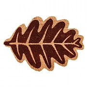 Fallen Fruits Leaf Shaped Coir Doormat