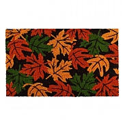 Fallen Fruits Autumn Leaves Coir Doormat