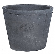 Fallen Fruits Grey Terracotta Pot Round 16cm