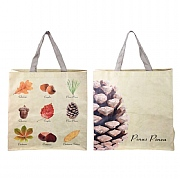 Fallen Fruits Nuts & Leaves Shopping Bag