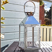 Exeter Lantern Stainless Steel