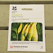 Thompson & Morgan National Trust Courgette Zephyr F1 Hybrid