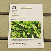 Thompson & Morgan National Trust Herb British Basil