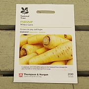 Thompson & Morgan National Trust Parsnip White Gem