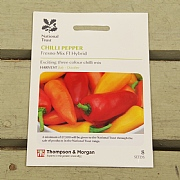 Thompson & Morgan National Trust Chilli Pepper Fresno Mix F1 Hybrid