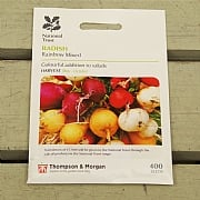 Thompson & Morgan National Trust Radish Rainbow Mixed