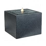 Kaemingk Marseille Cascade Water Feature Charcoal Black 39cm