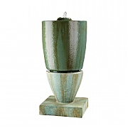 Kaemingk Tuscany Cascade Water Feature Copper 45.5cm