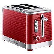 Russell Hobbs Inspire 2-Slice Toaster - Red