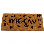Outside In Meow Decoir Mat 75x45cm