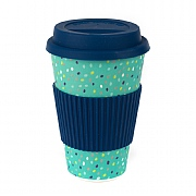 Cambridge Speckle Bamboo Eco Travel Mug