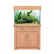 Aqua One Oak Style 145 Aquarium & Cabinet - Oak Effect