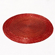 Red Beaded Placemat