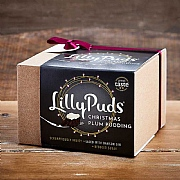 LillyPuds Plum Pudding with Damson Gin 454g