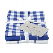 Kensington Blue Stripe Tea Towel - 3 Pack