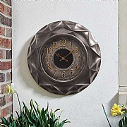 Outside In Repton Wall Clock 20""