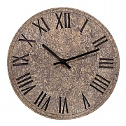 Outside In Rock Wall Clock 12""