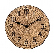 Outside In Tree Time Wall Clock 12""