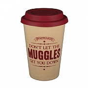 Harry Potter Muggles Huskup Reusable Travel Mug