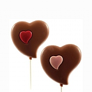 Bon Bons Belgian Heart Lollies 30g (Assorted Designs)