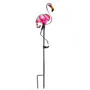 Smart Solar Flamingo Stake Light