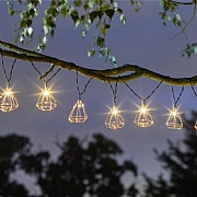Smart Solar Geo String Lights 10 LED