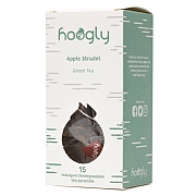 Hoogly Tea Apple Strudel Green Tea - 15 Tea Pyramids