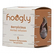 Hoogly Tea Berrylicious Herbal Infusion - 5 Tea Pyramids