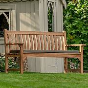 Bramblecrest High Back 3 Seat Bench & Cushion